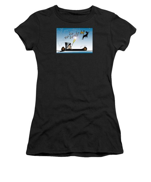 Glooscap Creates The West Isles Women's T-Shirt