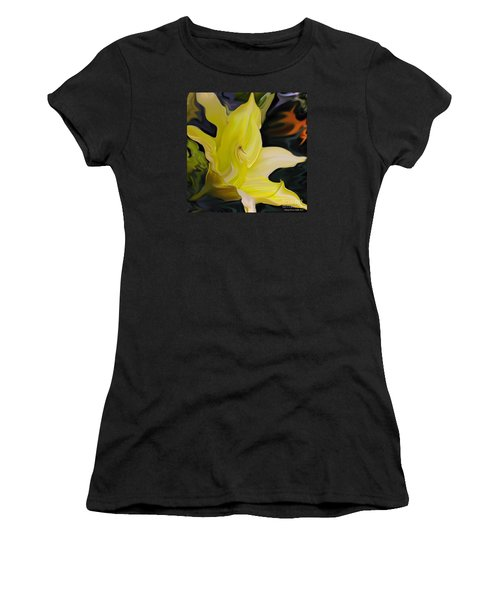 Women's T-Shirt (Junior Cut) featuring the painting Glory II by Patricia Griffin Brett
