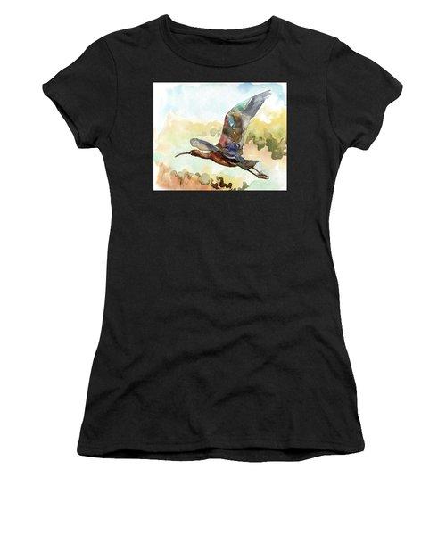 Glossy Ibis Women's T-Shirt