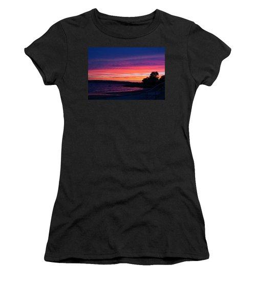 Gloucester Harbor Beach Women's T-Shirt