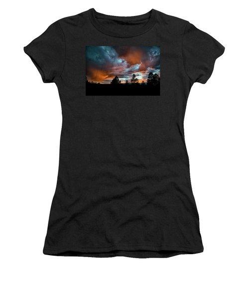 Glowing Mists Women's T-Shirt