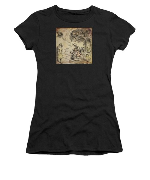 Go Ask Alice Women's T-Shirt (Athletic Fit)