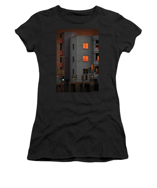 Women's T-Shirt (Junior Cut) featuring the photograph Go by Skip Hunt