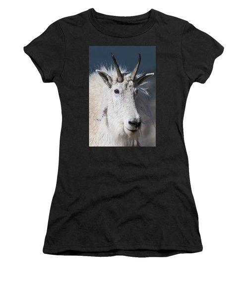 Goat Portrait Women's T-Shirt