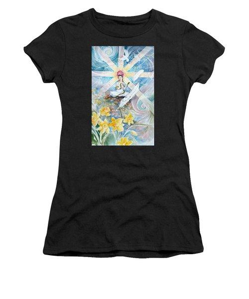 Goddess Awakened Women's T-Shirt (Athletic Fit)