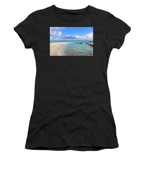 Goff's Caye Island Women's T-Shirt (Athletic Fit)