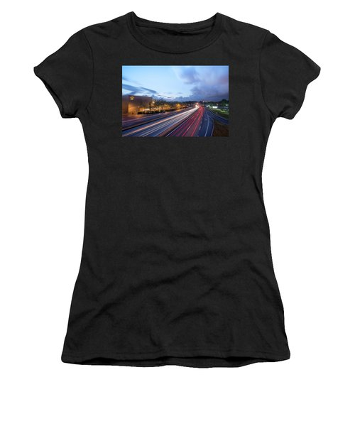 Women's T-Shirt featuring the photograph Going Somewere by Bruno Rosa