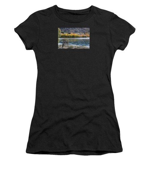 Gold Across The Water Women's T-Shirt