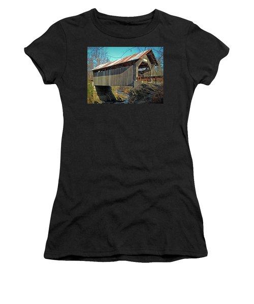 Gold Brook Bridge Women's T-Shirt
