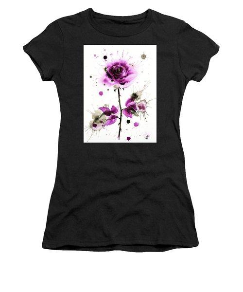 Gold Heart Of The Rose Women's T-Shirt