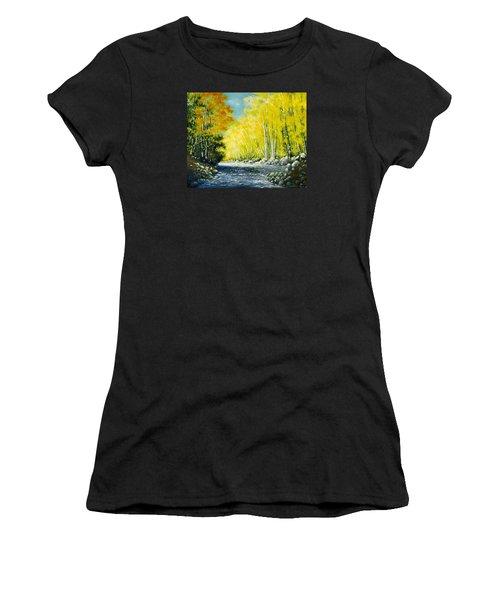 Golden Autumn Women's T-Shirt (Athletic Fit)