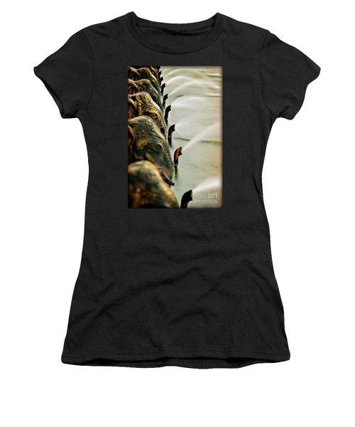 Golden Elephant Fountain Women's T-Shirt
