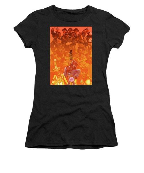 Golden Era Icons Collage 1 Women's T-Shirt