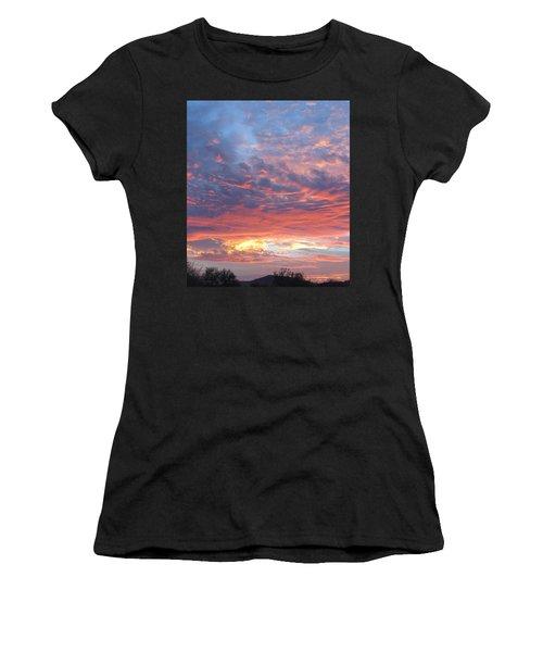 Golden Eye Landing In The Desert Women's T-Shirt