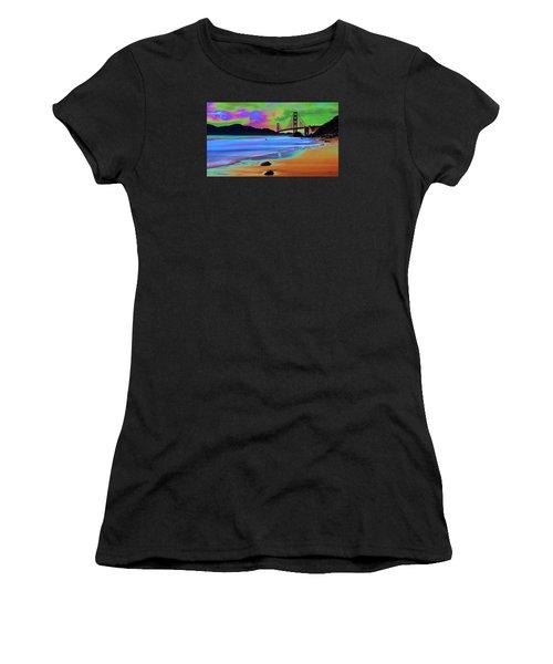 Golden Gate 2 Women's T-Shirt (Athletic Fit)