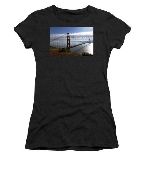 Golden Gate Bridge-2 Women's T-Shirt (Athletic Fit)