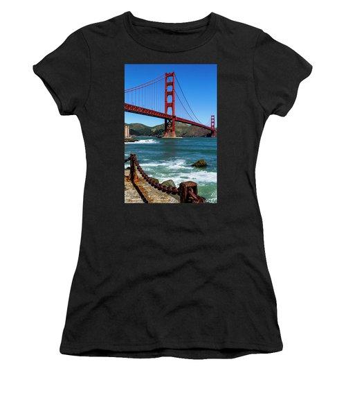Golden Gate Bridge From Fort Point Women's T-Shirt