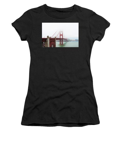 Golden Gate In The Fog Women's T-Shirt