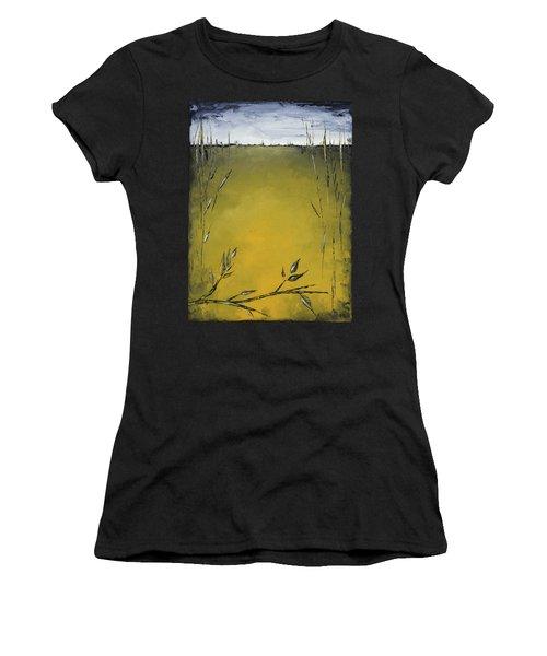 Golden Greens Women's T-Shirt (Athletic Fit)