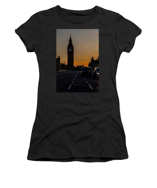 Golden Hour Big Ben In London Women's T-Shirt