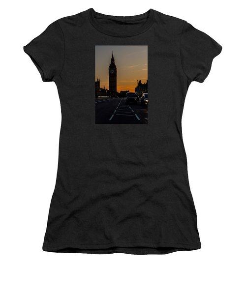 Golden Hour Big Ben In London Women's T-Shirt