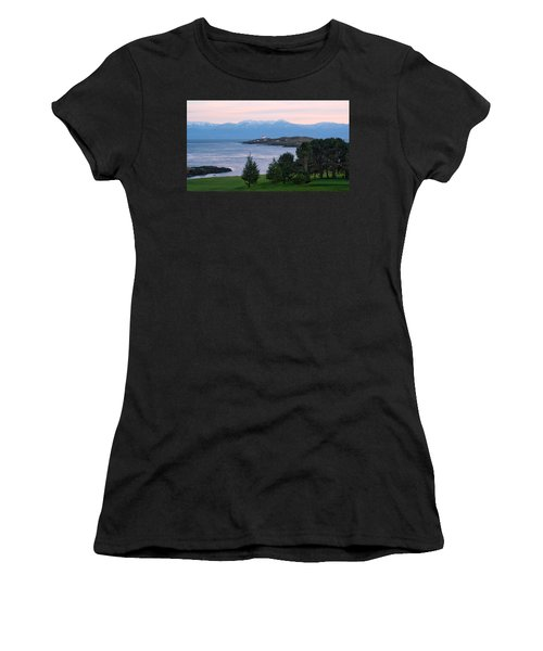 Trial Island Sunset Women's T-Shirt (Junior Cut) by Keith Boone