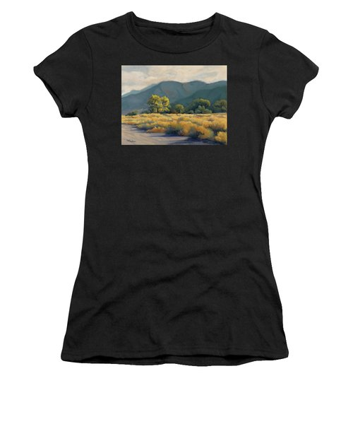 Golden Hour In Owen's Valley Women's T-Shirt (Athletic Fit)