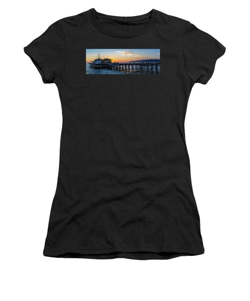 Golden Hour - Panorama Women's T-Shirt (Athletic Fit)