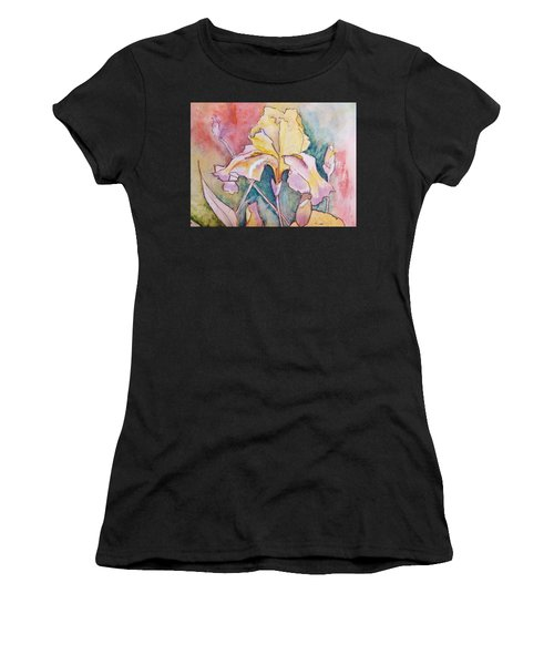 Golden Iris Women's T-Shirt (Athletic Fit)