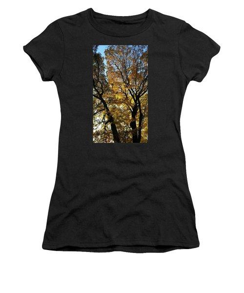 Golden Fall Women's T-Shirt (Athletic Fit)