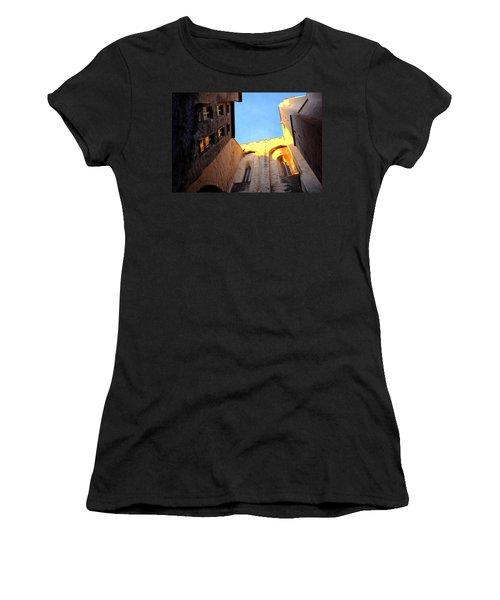 Golden Light In Avignon Women's T-Shirt