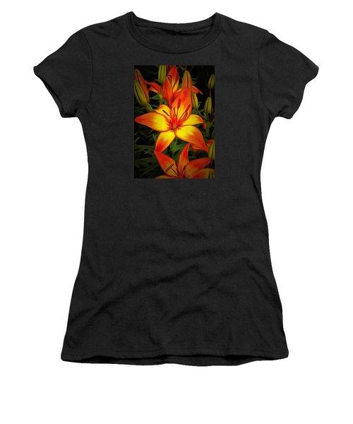 Golden Lilies Women's T-Shirt