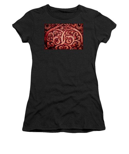 Golden Metalwork Women's T-Shirt (Athletic Fit)
