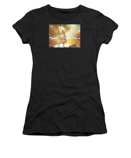 Golden Moments Women's T-Shirt (Athletic Fit)
