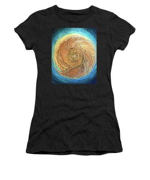 Golden Nautilus Women's T-Shirt