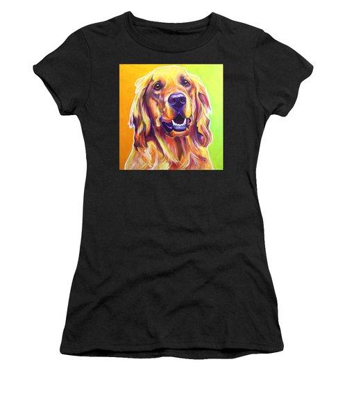 Golden Retriever - Jasper Women's T-Shirt (Athletic Fit)