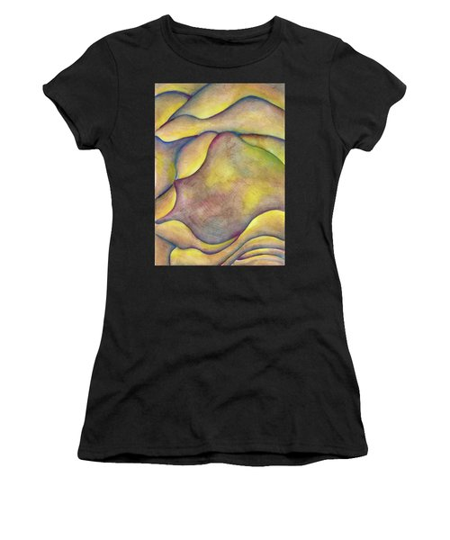 Golden Rose Women's T-Shirt (Athletic Fit)