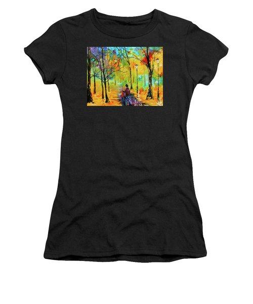 Golden Walk Women's T-Shirt