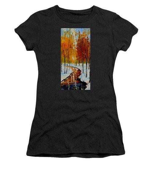 Golden Winter Women's T-Shirt