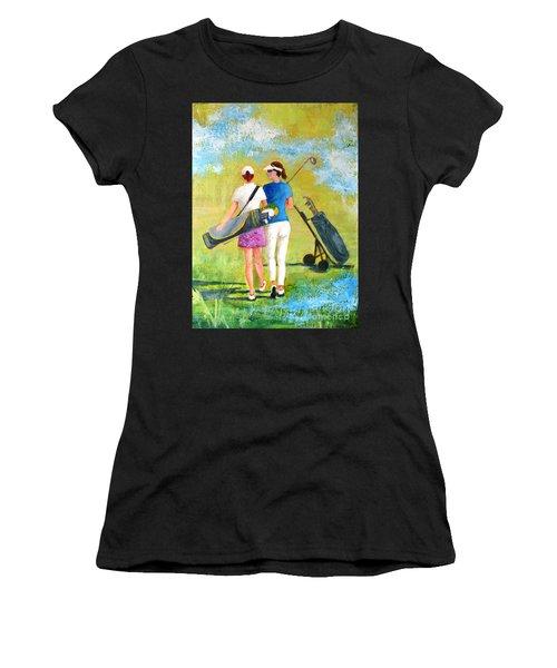 Golf Buddies #1 Women's T-Shirt