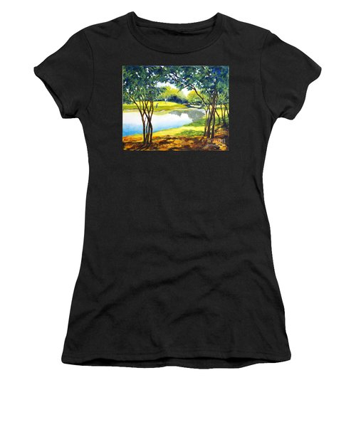 Golf Haven Women's T-Shirt (Athletic Fit)