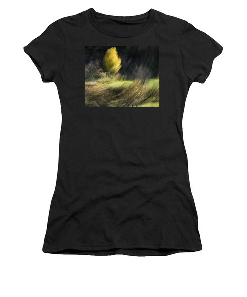 Gone With The Wind Women's T-Shirt (Junior Cut) by Raffaella Lunelli