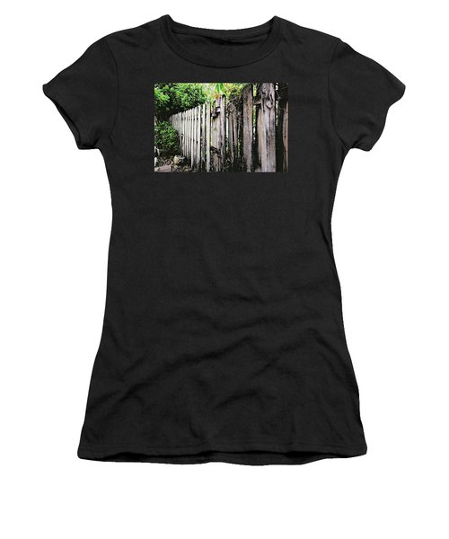 Good Fences, Good Neighbors Women's T-Shirt (Athletic Fit)