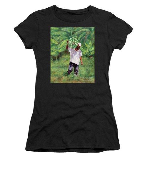 Good Harvest Women's T-Shirt (Athletic Fit)