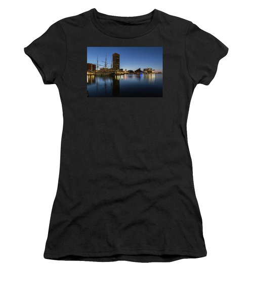 Good Morning Baltimore Women's T-Shirt (Athletic Fit)