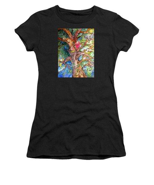 Good Neighbors Women's T-Shirt (Athletic Fit)