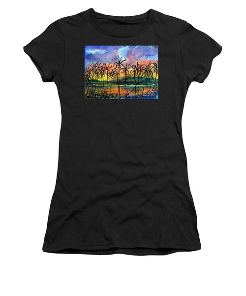 Good Night Hawaii Women's T-Shirt (Athletic Fit)
