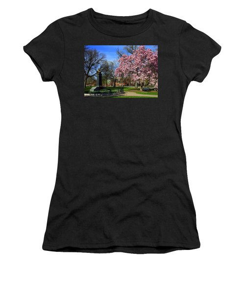 Goodale Park In The Spring Women's T-Shirt (Athletic Fit)