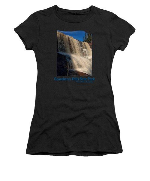Gooseberry Falls Women's T-Shirt (Athletic Fit)