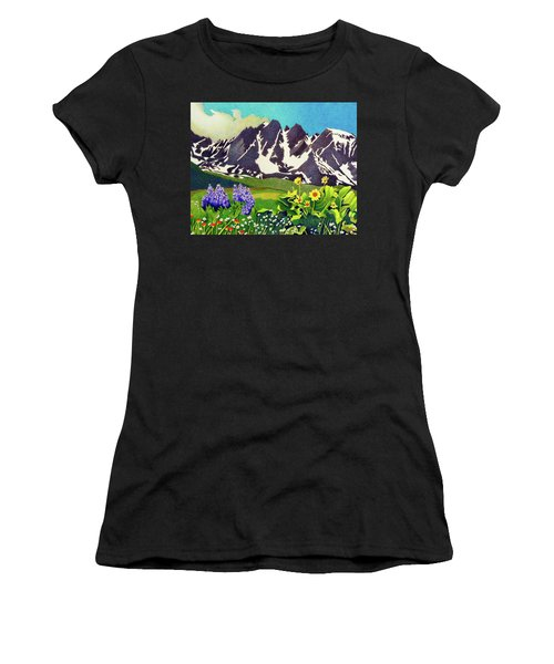 Gore Range Wildflowers Women's T-Shirt